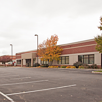 Amenities Building Offers an Exercise Facility for Pinecroft Tenants